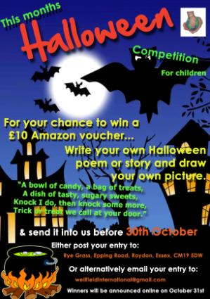 October's Halloween Competition